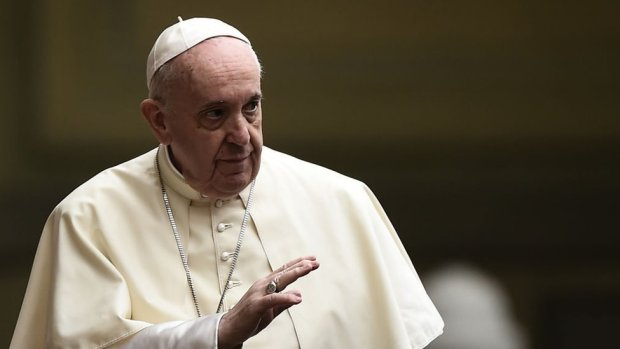 The Vatican said the Pope does not receive politicians during an election period