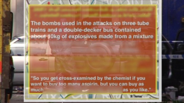 IS graphic about attack on a bus