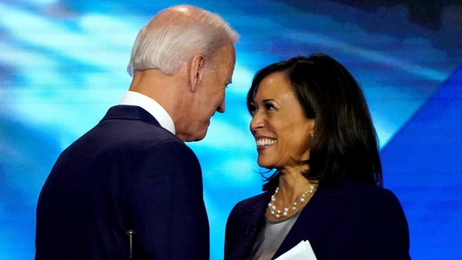 Image result for Biden - Harris now