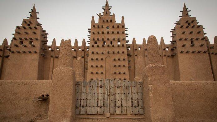 Building at Djenne in Mali