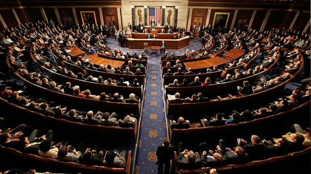 Photo: A joint session of Congress