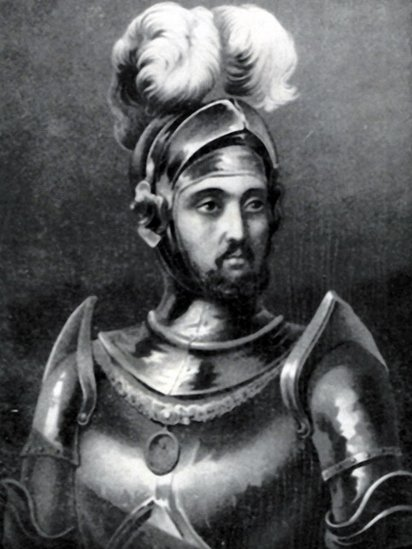 Retrato de Diego Colón.