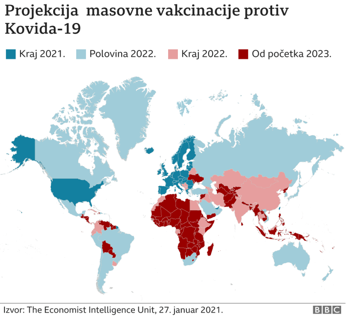 Mapa vakcinacije