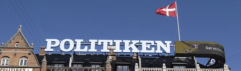 Politiken's head office in Copenhagen
