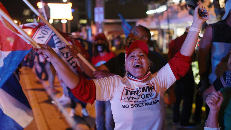 Voters celebrate in Florida