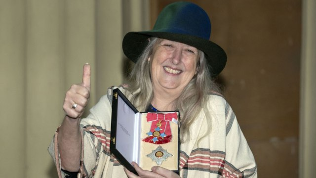 Dame Mary Beard finds new title 'quaint'