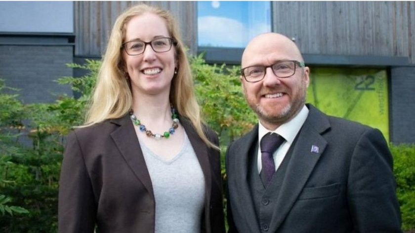 Lorna Slater and Patrick Harvie believe the Greens could gain more votes than Labour.