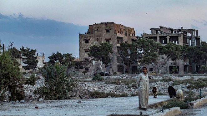 IŞİD'in başkent olarak kabul ettiği şehir Rakka