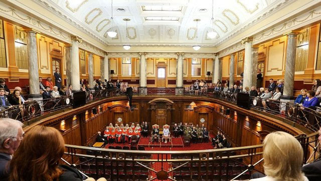 51st Parliament's State Opening Ceremony at Parliament on October 21, 2014 in Wellington, New Zealand