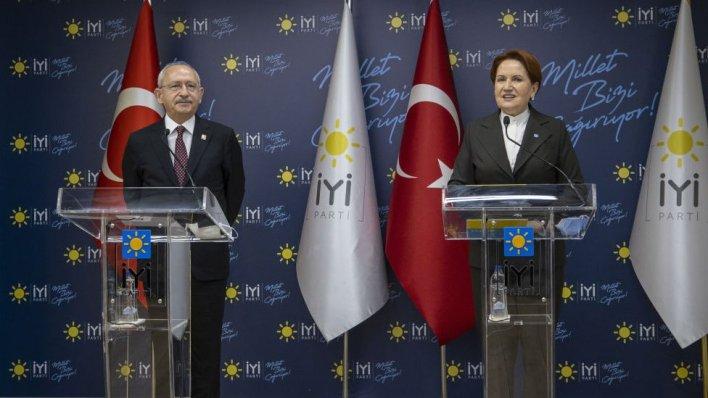Meral Akşener ve kılıçdaroğlu