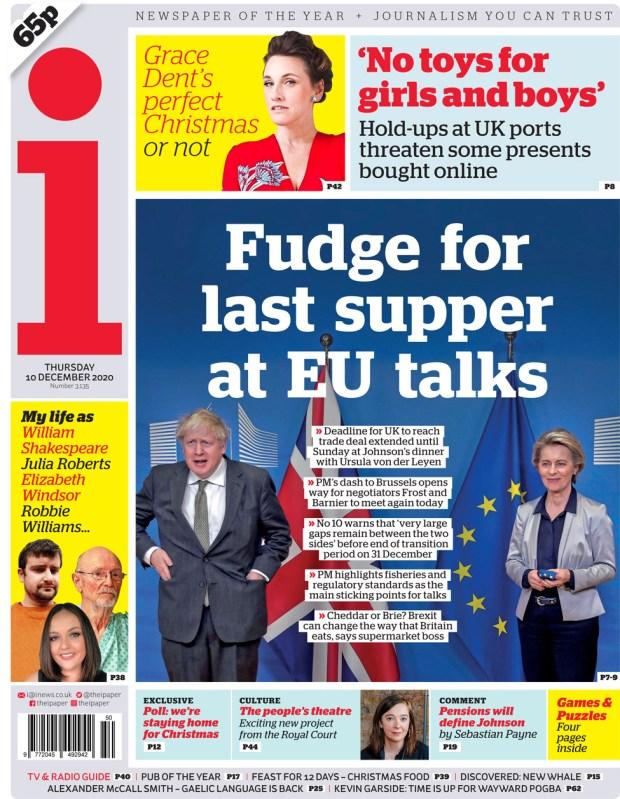 i newspaper 10 December