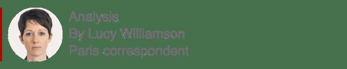 Analysis box by Lucy Williamson, Paris correspondent