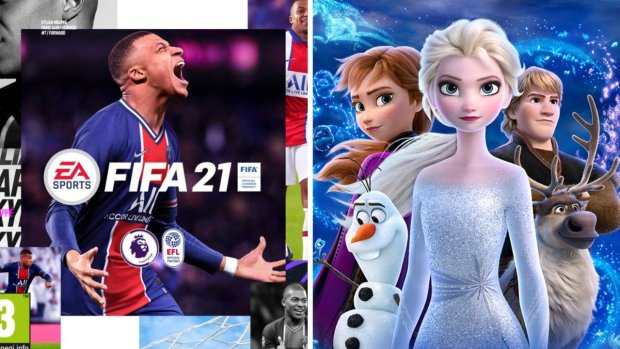Fifa 21 and Frozen 2