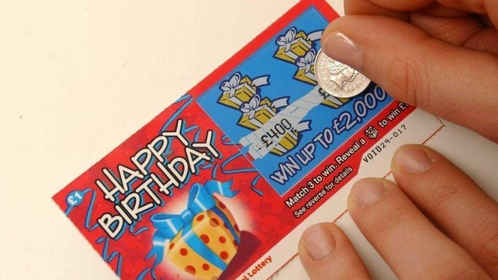 Juego de lotería