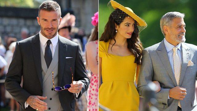 Royal wedding 2018: Royalty of the celebrity world arrive
