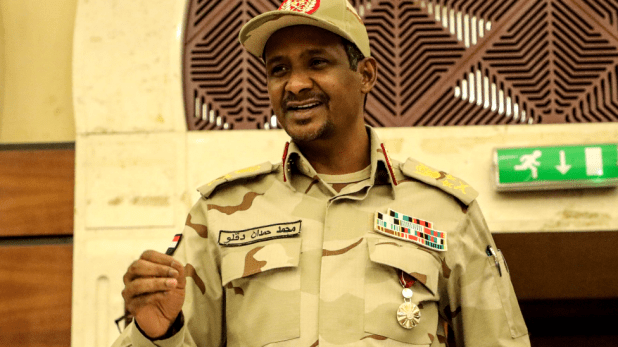 "Lt-Gen Mohamed Hamdan Dagolo, known as ""Hemeti"""