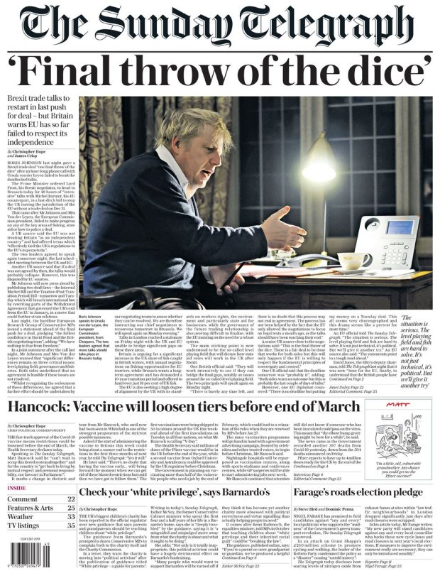 The Sunday Telegraph 6 December