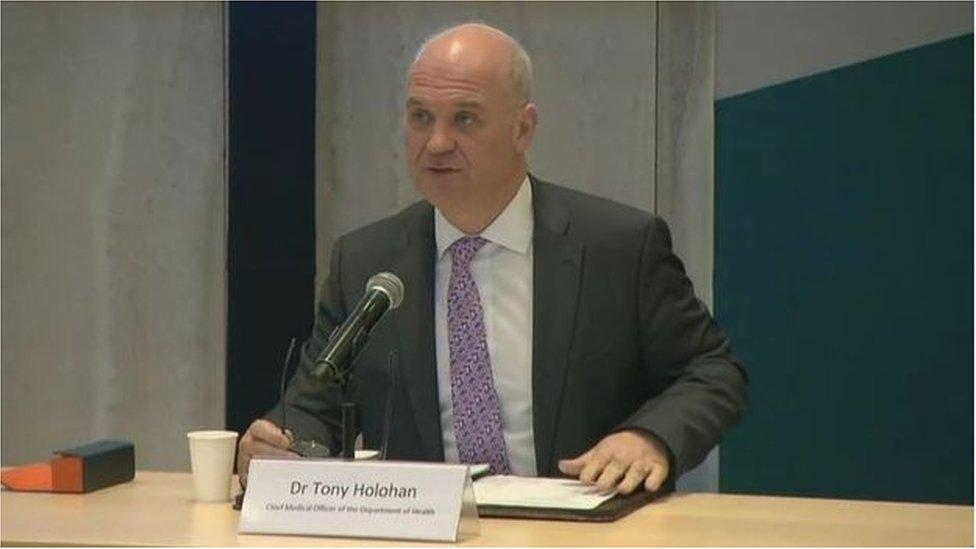 Dr Tony Holohan