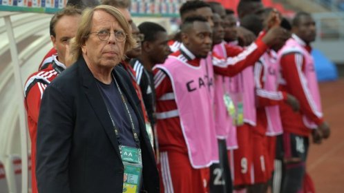 Congo boss Claude LeRoy (left)