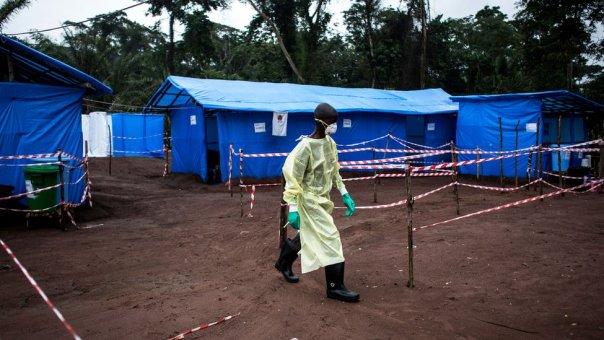 Brote de ébola en República Democrática de Congo en 2017.