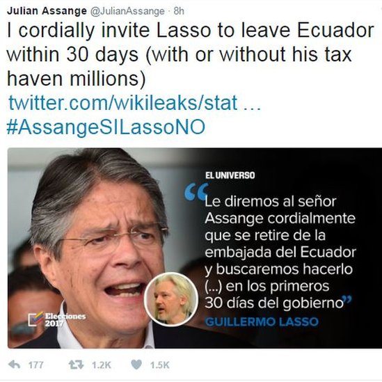 Ecuador election: Fraud alleged as protesters scuffle - BBC News