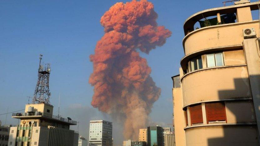 113812434 explosion2 - Líbano: qué se sabe de las causas de la devastadora explosión en Beirut que dejó decenas de muertos y miles de heridos
