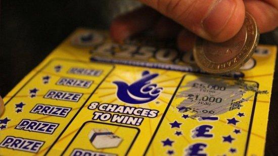 Foto genérica de juego de lotería.