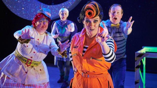 Perth theatre panto cast
