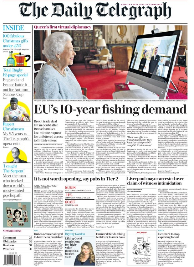 The Telegraph 5 December