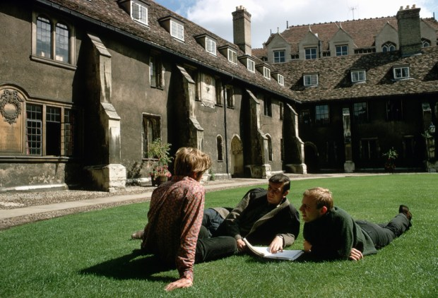 Corpus Christi College Cambridge Old Court (1967)