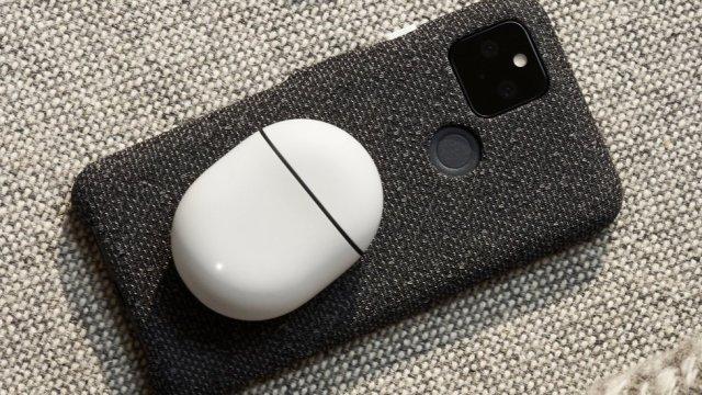Pixel 5 phone
