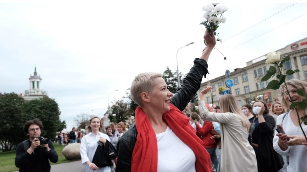 Maria Kolesnikova on 29 August