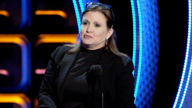 Carrie Fisher sent a cow's tongue to a preying producer
