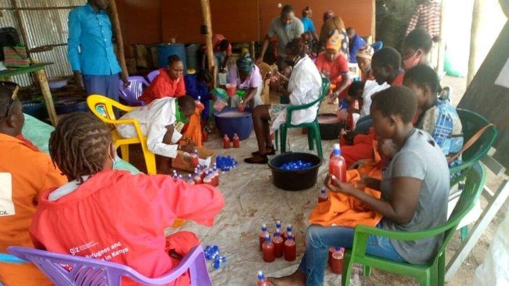 काकुमा में साबुन बनाने की कार्यशाला