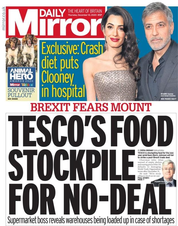 The Mirror Thursday 10 December