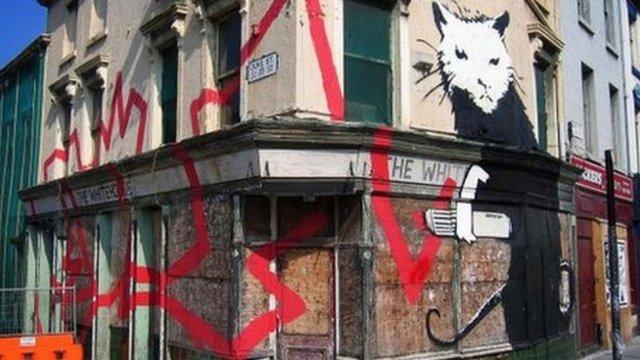 Banksy Liverpool murals sold for £3.2m to Qatari buyer