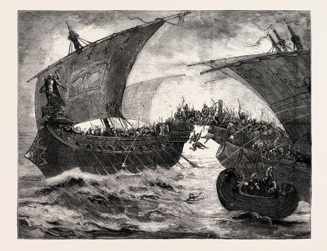 Ilustración de la Batalla de Accio