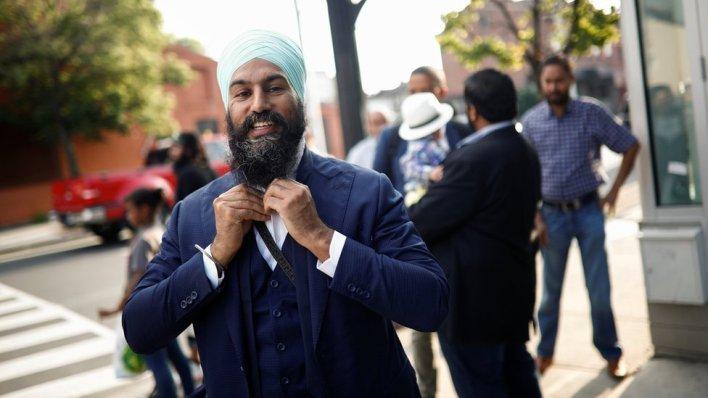 98027375 hi040882470 - Canada's New Democrats elect Jagmeet Singh as party leader