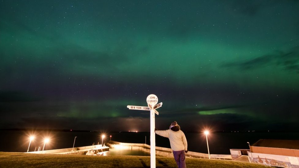 Northern Lights John O Groats