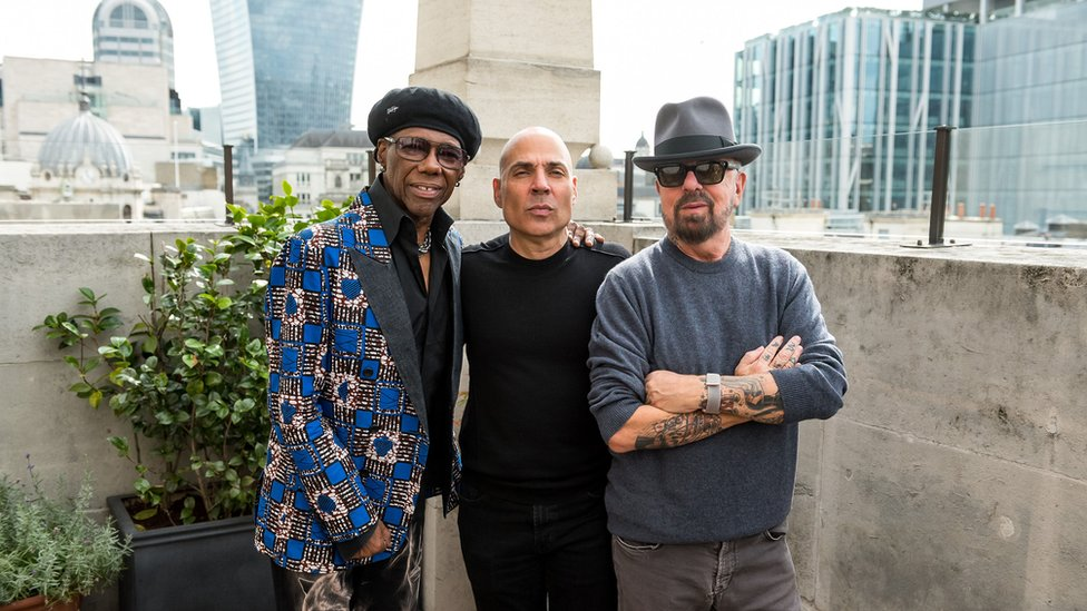 Merck Mercuriadis, Nile Rodgers and Dave Stewart