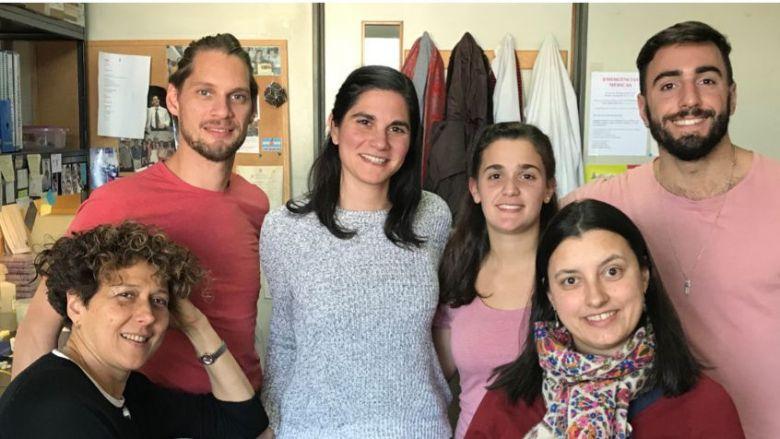 Miembros del Laboratorio de Virología Molecular en el Instituto Leloir, en Buenos Aires