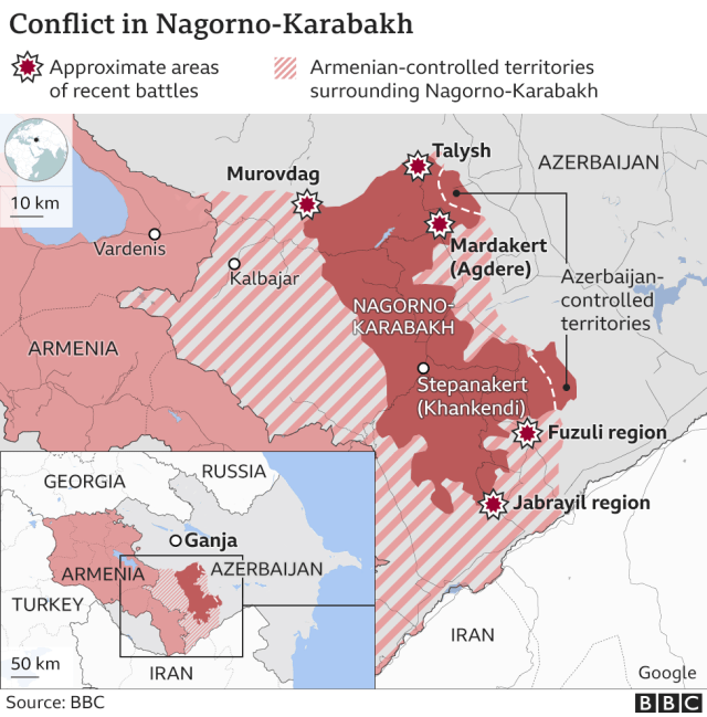 Conflict in Nagorno-Karabakh
