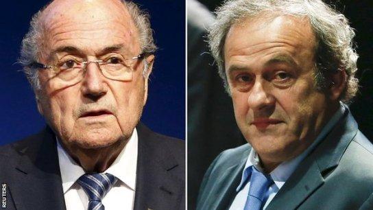Sepp Blatter & Michel Platini