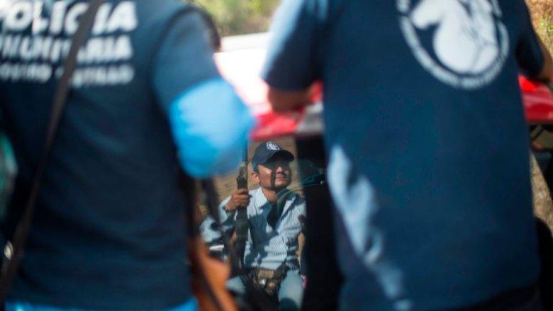 Policía comunitaria en México