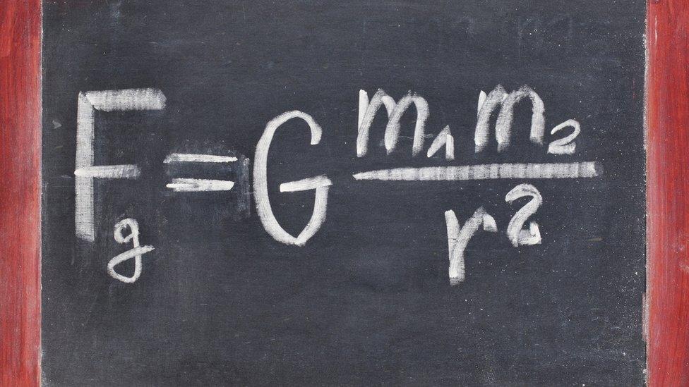 La ley de gravedad