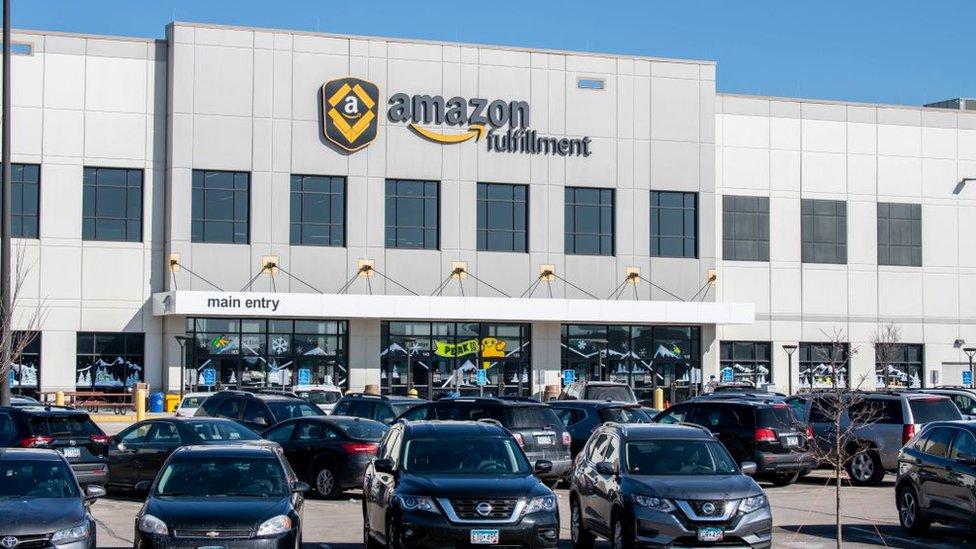 Edificio de Amazon en Minnesota.