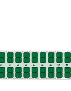 Frontier airlines bombardier  seat map operated by lynx aviation also seating chart flyradius rh