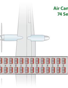 Bombardier  air canada express jazz seat map chart also flyradius rh