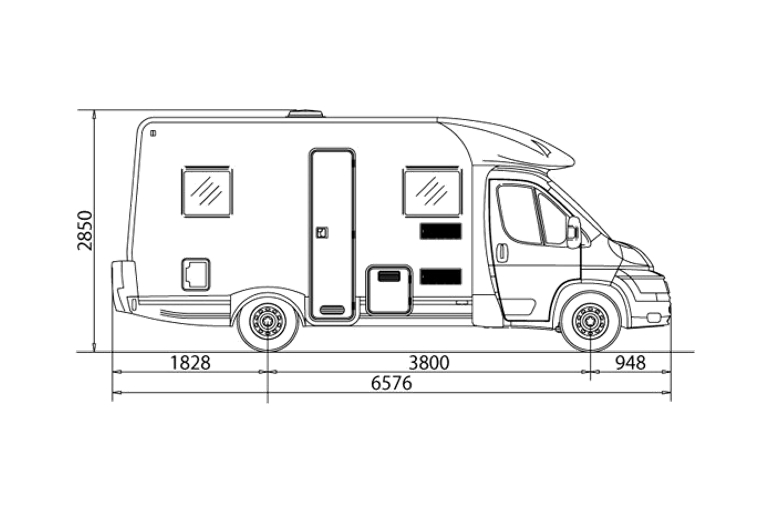 Fiat ducato height and length