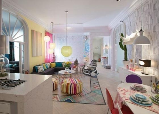 Atreva-te se podes, ambiente criado por Encarna Romero Barella para a Casa Madri 2010, em Madri, convida os visitantes a ultrapassar as rígidas fronteiras do bom gosto convencional